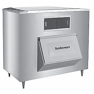 "60"" x 34"" x 56"" Commercial Ice Storage Bin with 1400 lb. Ice Storage Capacity"