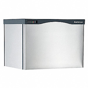 208/230V Small Modular Ice Machine, Stainless Steel, 722 lb.