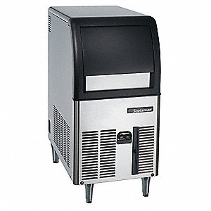 115V Gourmet Undercounter Ice Machine, Stainless Steel, 84 lb.
