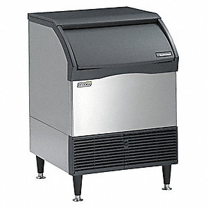 115V Medium Undercounter Ice Machine, Stainless Steel, 150 lb.