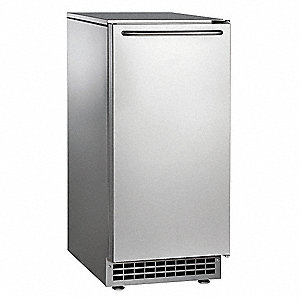 115V Gourmet Undercounter Ice Machine, Stainless Steel, 65 lb.