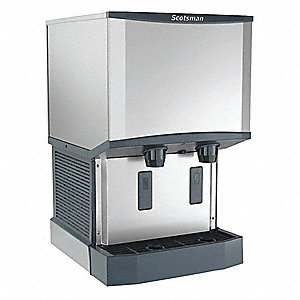 Ice Maker and Dispenser,26 lb Storage