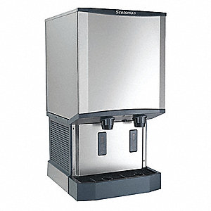 Ice Maker and Dispenser,40 lb Storage