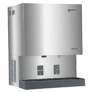 Ice Maker and Dispenser,90 lb Storage