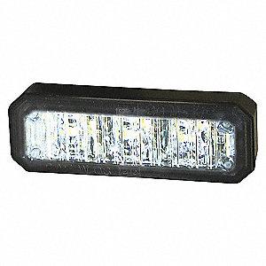 LIGHT LED 2.5IN MINI STROBE 3 CLR