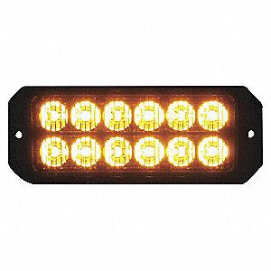 LIGHT LED 5IN MINI STROBE 12 AMBER