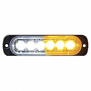 LIGHT LED HORIZ STROBE 3 AM/ 3 CL
