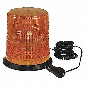 LIGHT LED STROBE AMBER COLOR