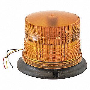 LIGHT LED STROBE PERM MOUNT AMB