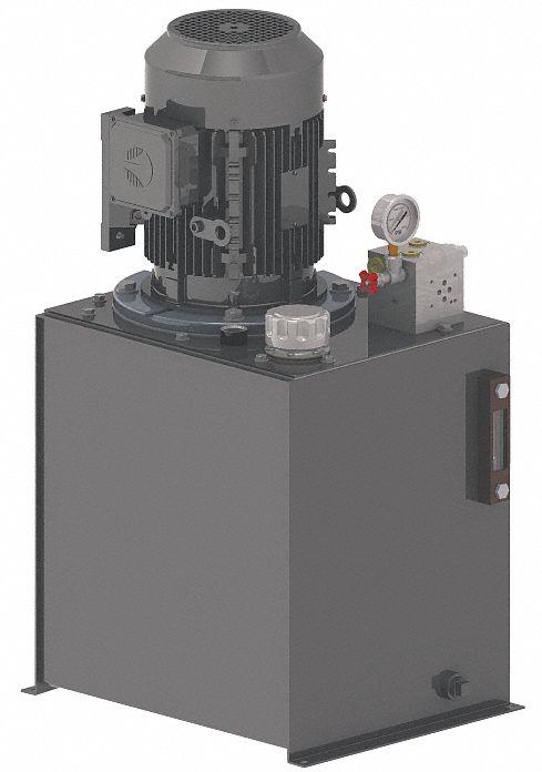 MONARCH 500206414170 Power Unit Reservoir,4 gal.,Plastic