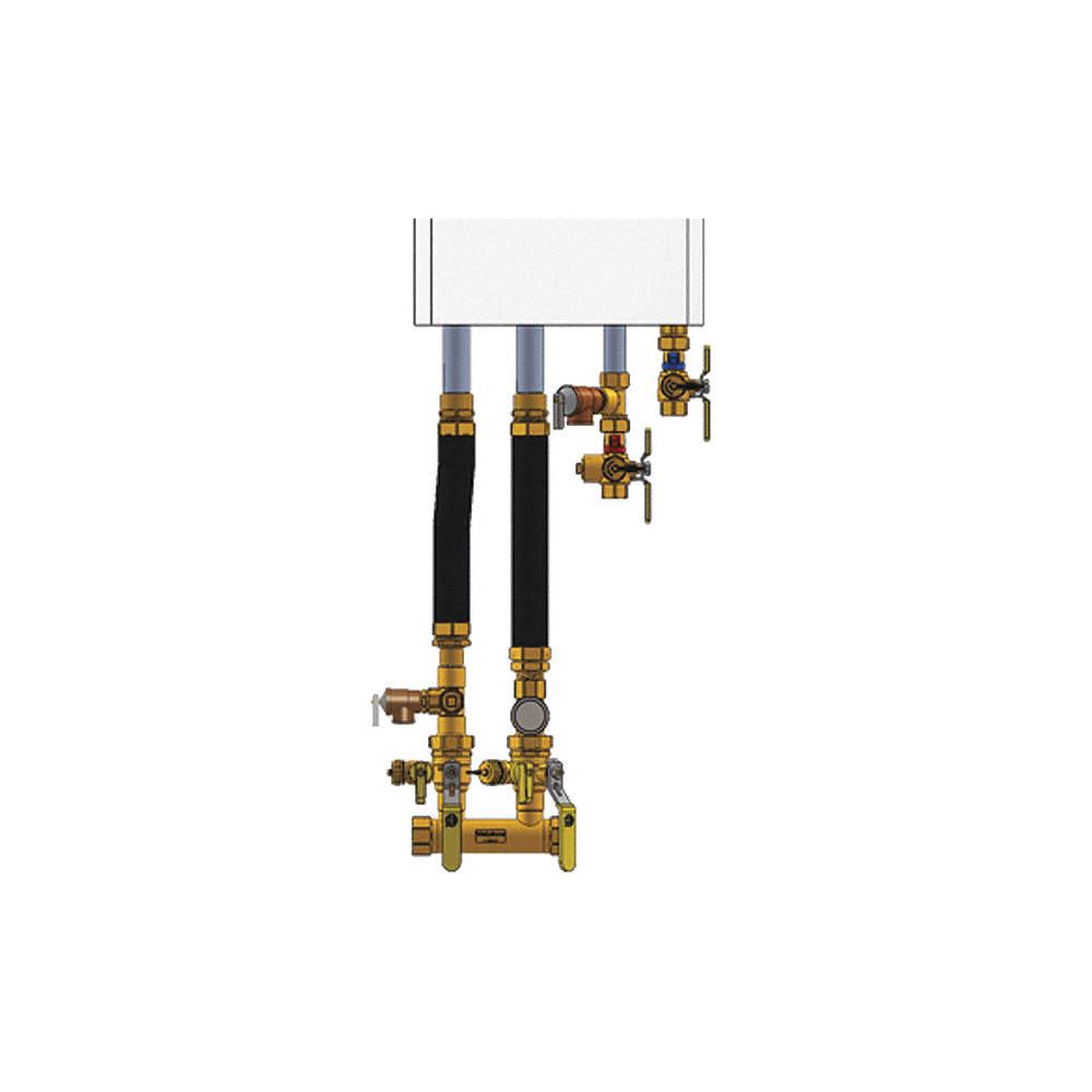 navien piping diagram webstone 1  double ball drain boiler installation kit  for use  boiler installation kit