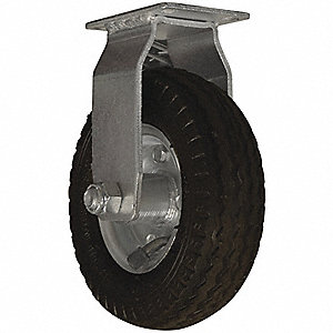 "Caster All-Terrain, Air, 6"", Fixed"