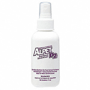Sanitizer, 4 oz. Bottle