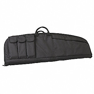 Tactical Rifle Case,33 In.,Black