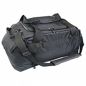 Large Gear Bag,Ballistic Nylon,Black