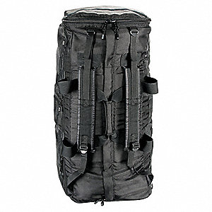 Gear Bag with Straps,Side Armor,Black