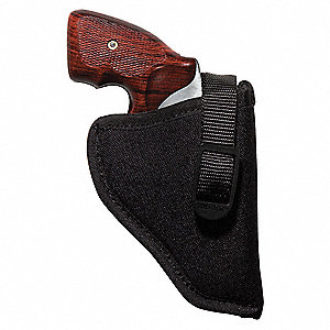 Holster,RH,2 to 3 In,Black