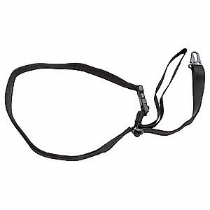 One Point Rifle Sling,1-1/4 In,Blk,Nylon