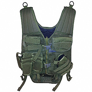 Cross Draw Entry Vest,Universal,OD Green