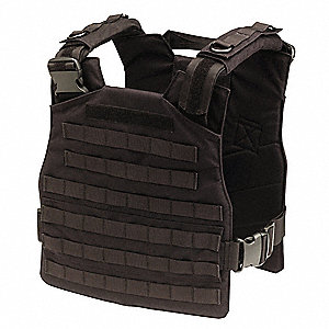 Plate Carrier Vest,Universal,Black