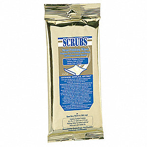 "18 Metal Polishing Wipes, 8 x 11"", 1 EA"