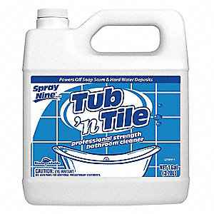 1 gal. Lemon Fragrance Tub and Tile Cleaner, 4 PK