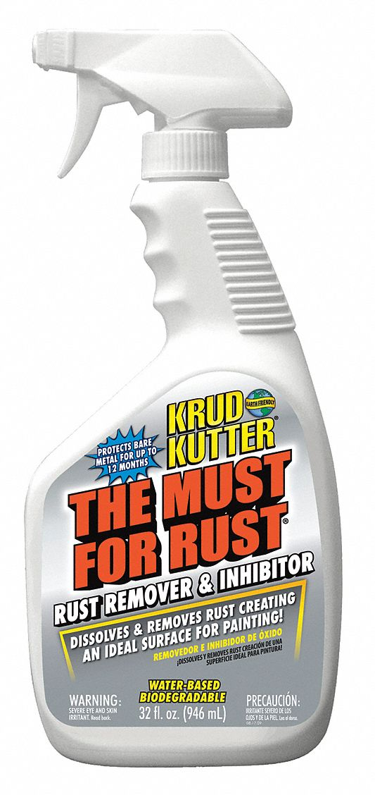 Rust Remover and Inhibitor,  32 oz Cleaner Container Size