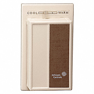 Low V Mechanical Tstat,50 to 90F,Brown