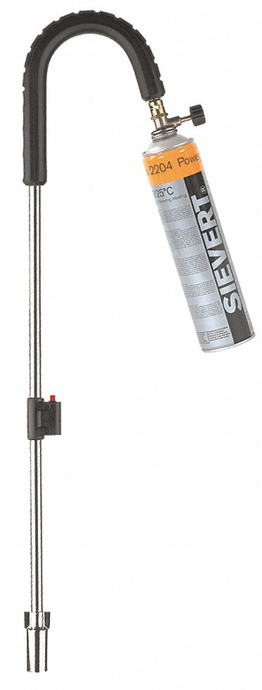 Standard Outdoor Torch,  Propane,  Instant On/Off,  3,400°F Propane Temp.