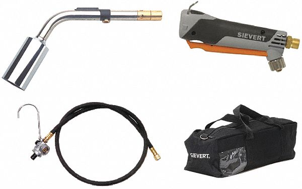 Standard Torch Kit,  Propane,  Instant On/Off,  3,400°F Propane Temp.