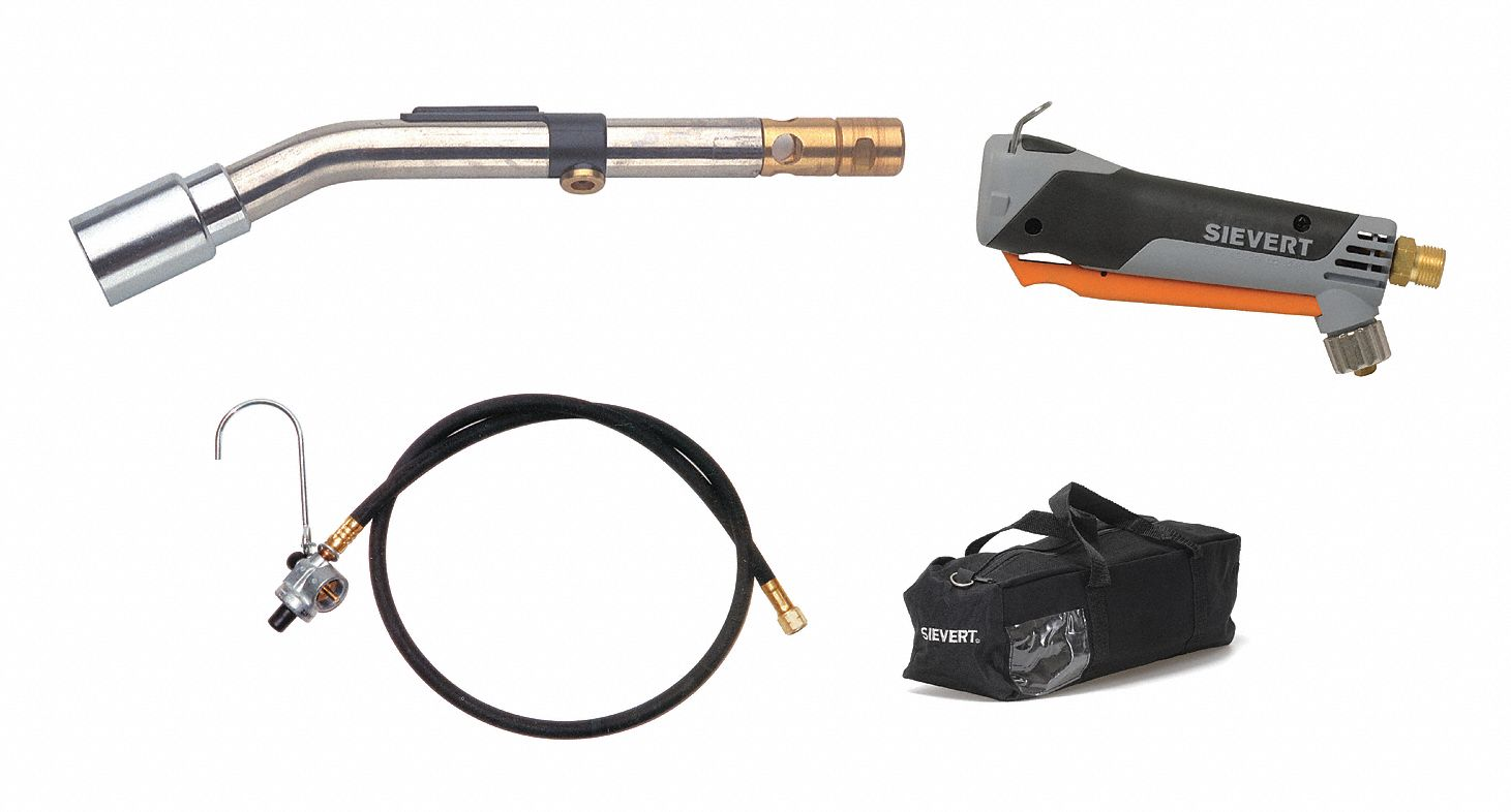 Standard Torch Kit, Propane, Instant On/Off, 1000 to 3400°F Propane Temp