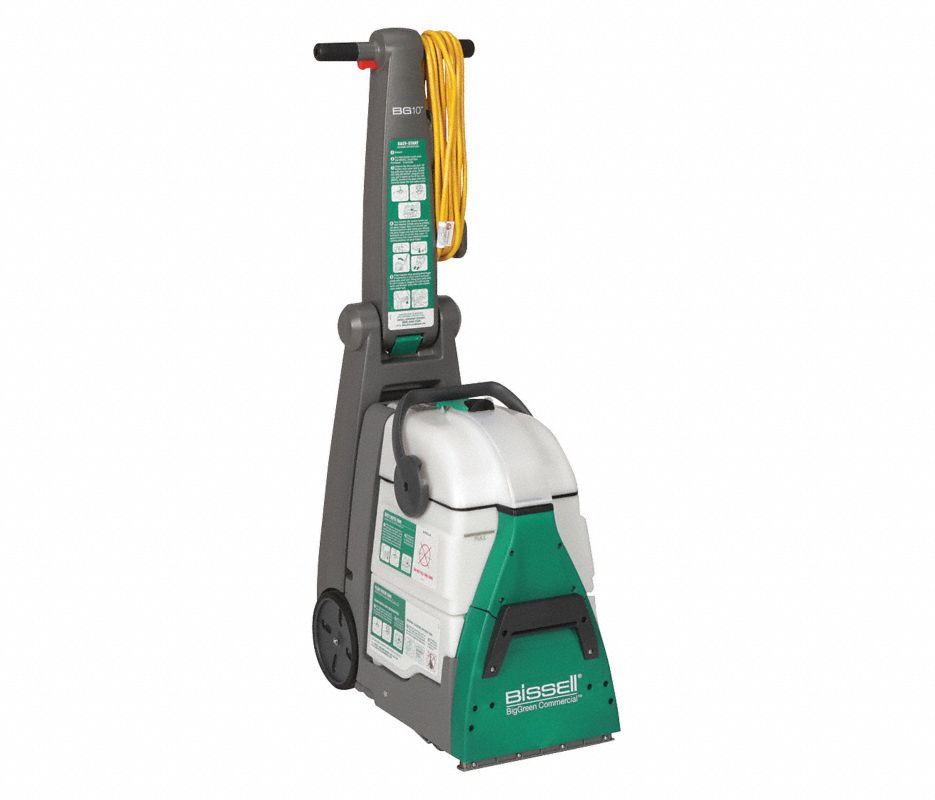 """Walk Behind Carpet Extractor, 1.75 gal., 120V, 26 psi, 10-1/2"""" Cleaning Path"""