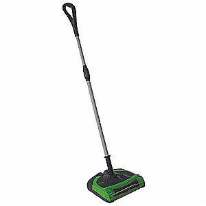 Battery Powered Sweeper, 3inH, ABS Plastic