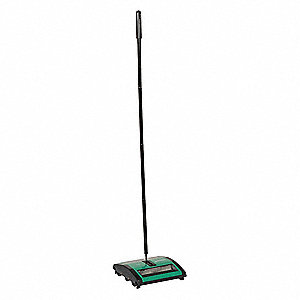 Carpet Sweeper,44in.H,Dual Rubber Rotor