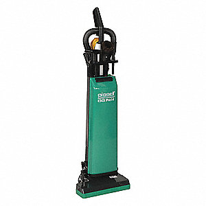 "1-1/2 gal. Capacity Bagged Upright Vacuum with 14"" Cleaning Path, 95 cfm, Standard Filter Type, 9.6"