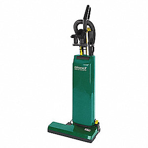 "1-1/2 gal. Capacity Bagged Upright Vacuum with 18"" Cleaning Path, 95 cfm, Standard Filter Type, 9.6"