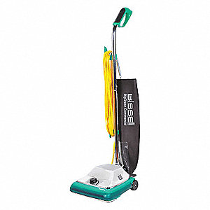 "2 gal. Capacity Bagged Upright Vacuum with 12"" Cleaning Path, 105 cfm, HIGH EFFICIENCY Filter Type,"
