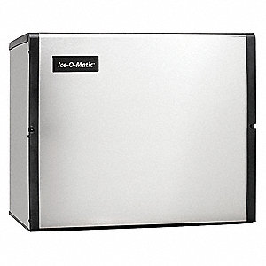 "Modular Ice Maker, Ice Production per Day: 960 lb., 30-1/8"" W X 26-1/16"" H  X24-1/4"" D"