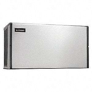"Modular Ice Maker, Ice Production per Day: 1469 lb., 48-1/4"" W X 26"" H  X24-1/4"" D"