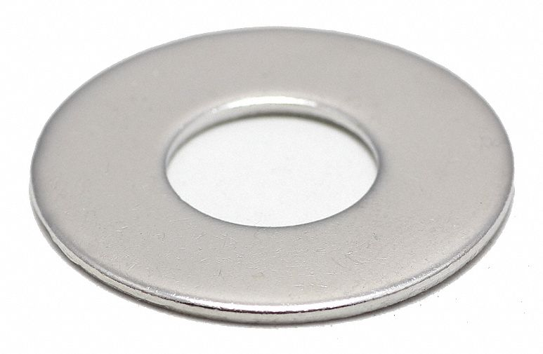 316 Stainless Steel Standard FOREVERBOLT FB3FLWASH34LOD2P10 Flat Washer 3//4 inch Finish NL-19 PK 10