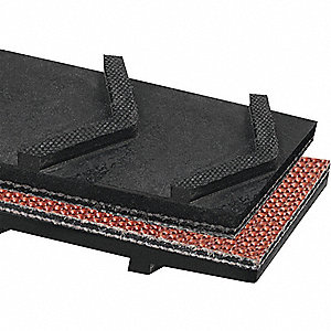 Conveyor Belt, 2Ply 220, Ntrle Blk, 36InW