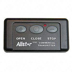 Radio Transmitter,3 Channel,Black
