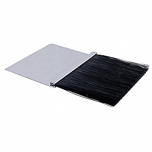 Weatherseal Brush, L 10 ft, 3 In Brush