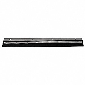 "24""W Straight Neoprene Replacement Squeegee Blade, Black"