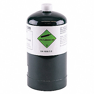 Methane Calibration Gas, 21L Cylinder Capacity