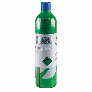 Hydrogen Sulfide Calibration Gas, 58L Cylinder Capacity