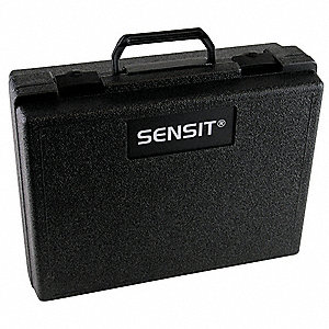 Carrying Case, Plastic, 5-1/2x13x10, Black
