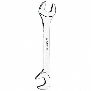 WRENCH OPEN END, 15-75DEG, 7MM