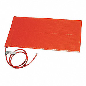 "SRL Series Silicone Heating Blanket, -51° to 232° (C) 12""L x 6""W, 120V"