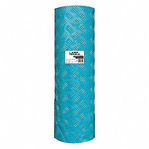 393 ft. x 3 ft. LDPE Fire Retardant Surface Protection, Teal